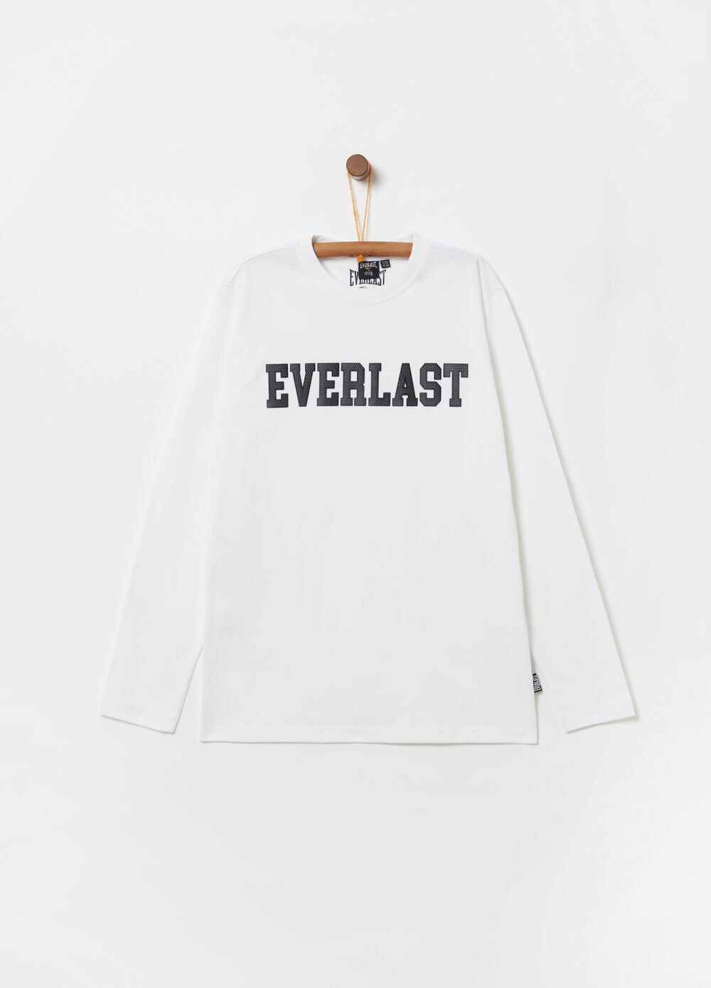 Camiseta con mangas largas y estampado Everlast