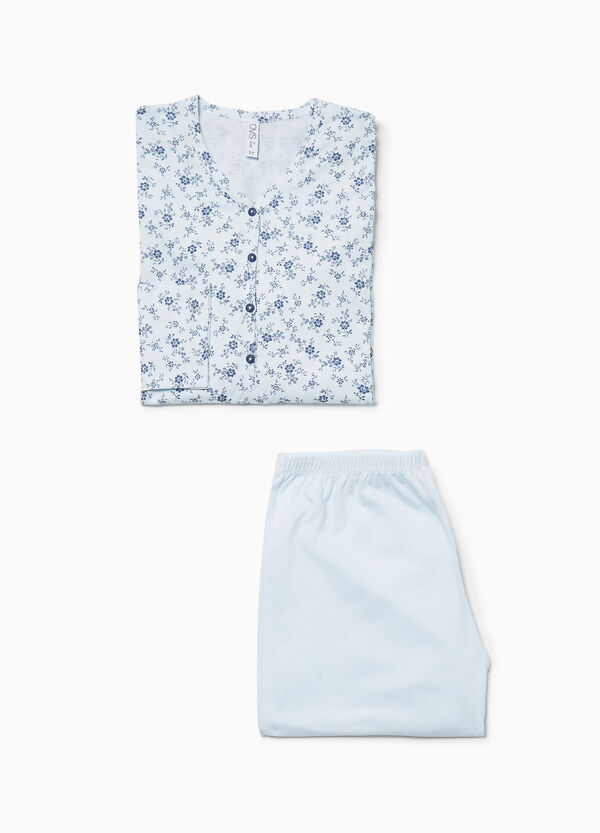 100% cotton floral pyjamas