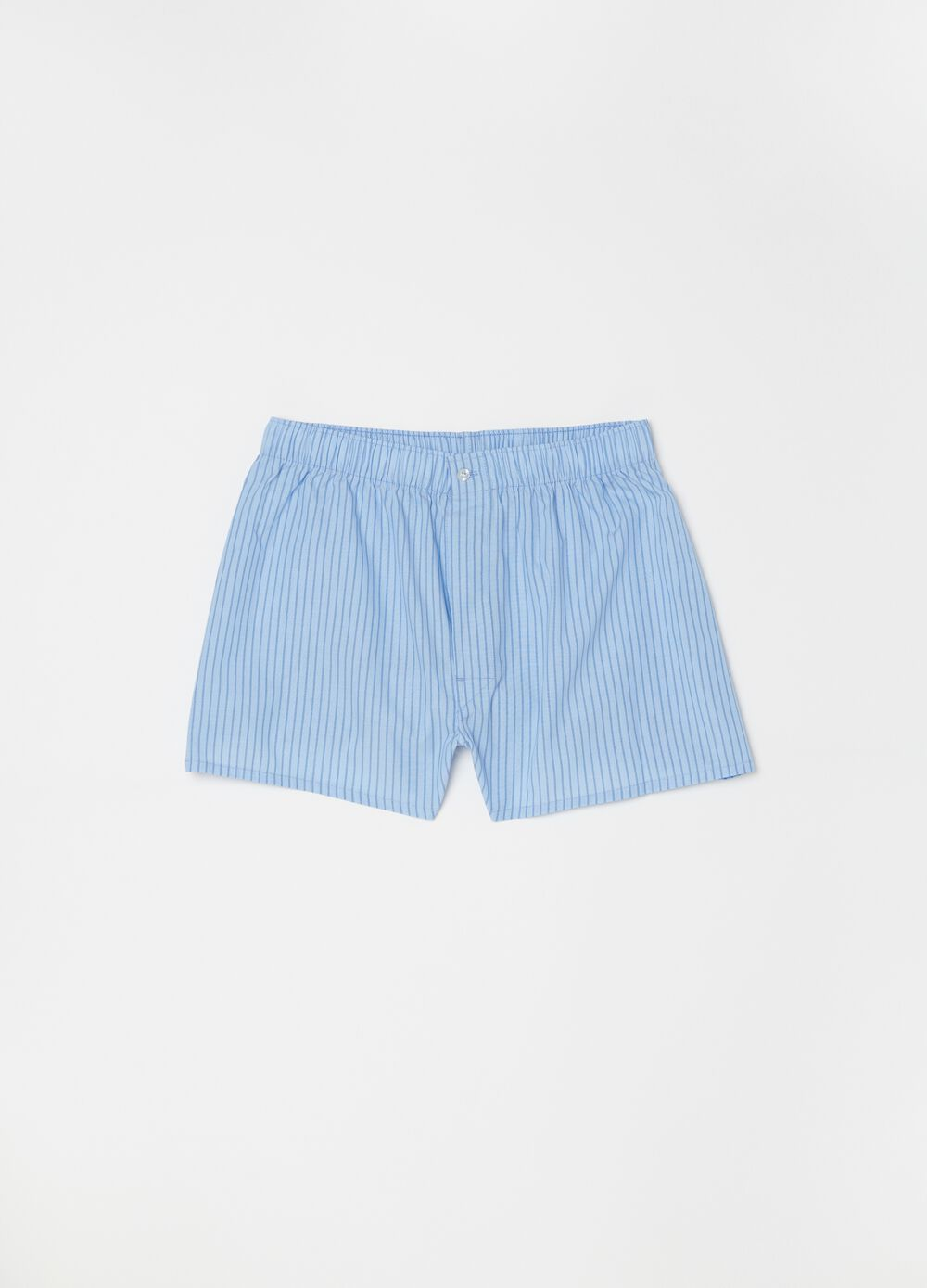Patterned boxer shorts in 100% cotton