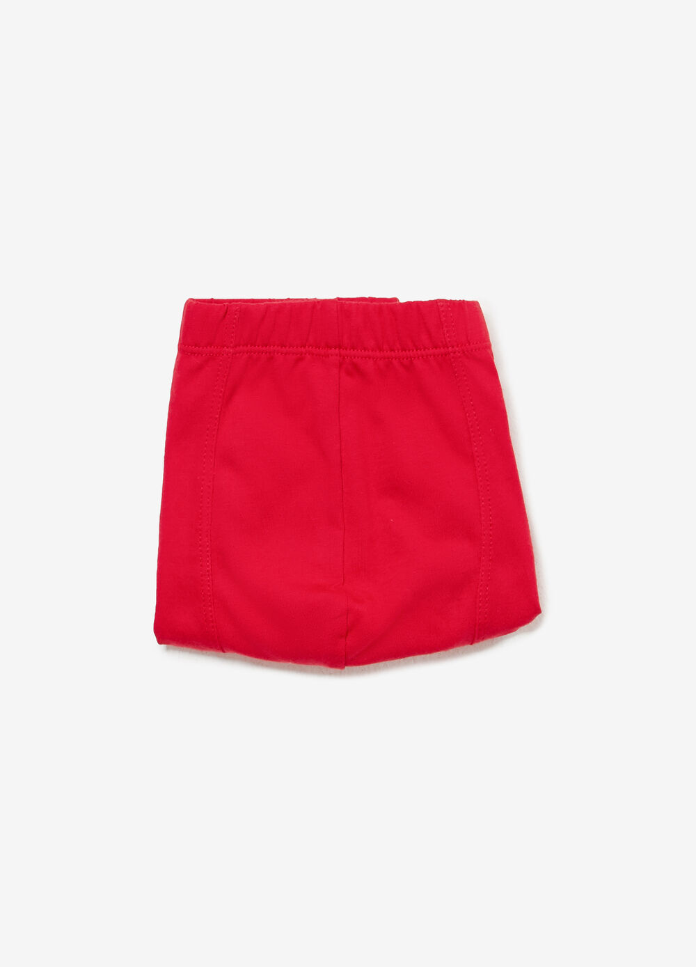 Cotton boxers with snowman embroidery