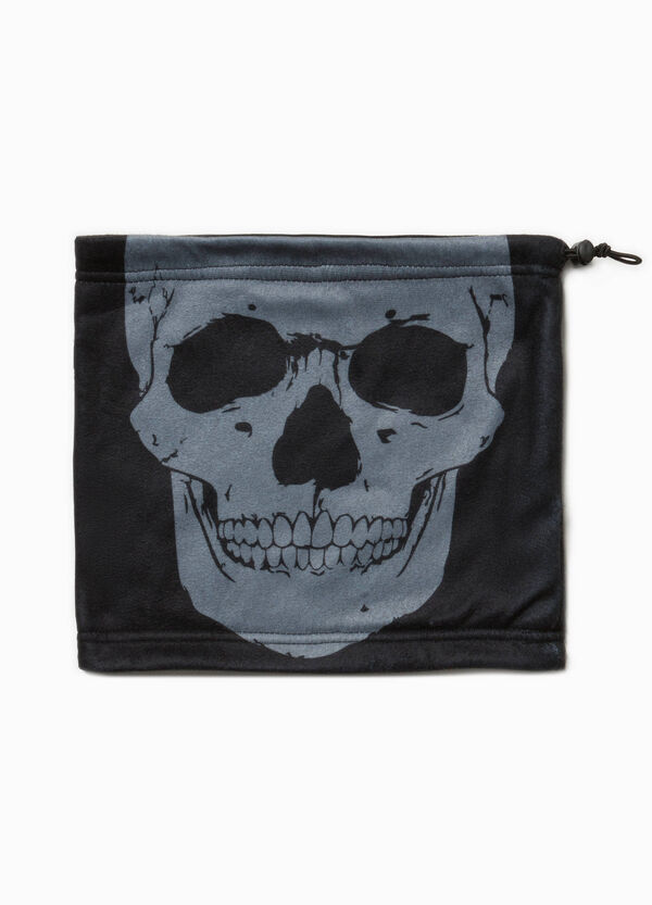 Neck warmer with skull print | OVS