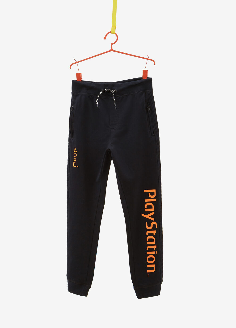 Trousers in 100% cotton with Playstation print