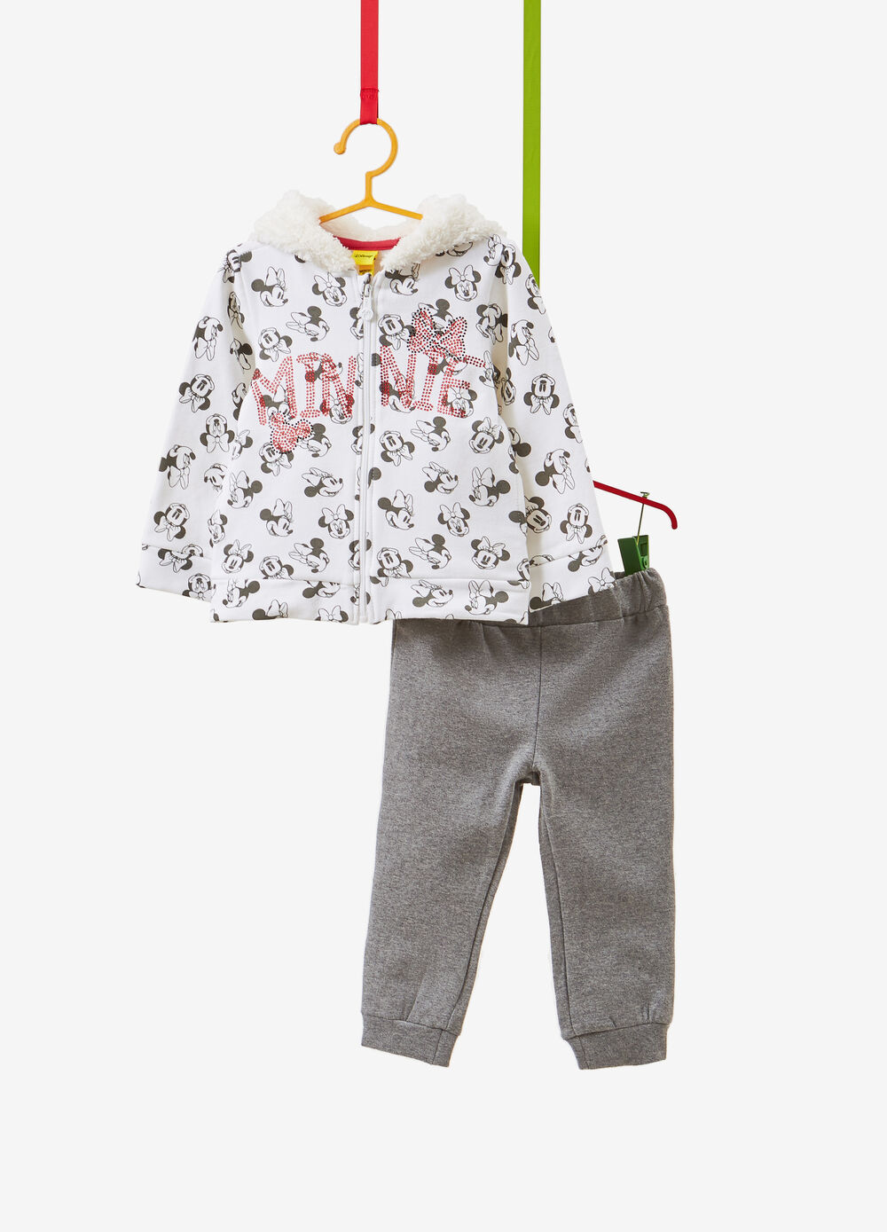 Minnie Mouse tracksuit with hoodie and trousers