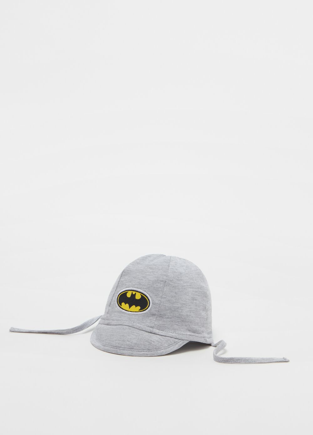 100% organic cotton hat with Batman motif