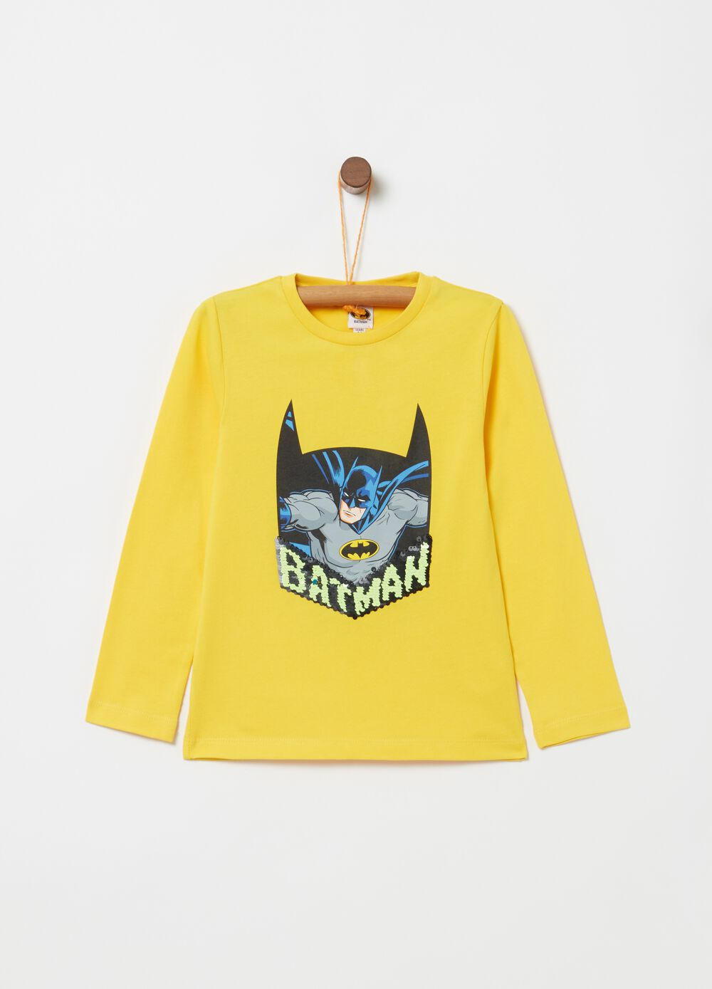 100% cotton T-shirt with Batman print [DC COMICS]