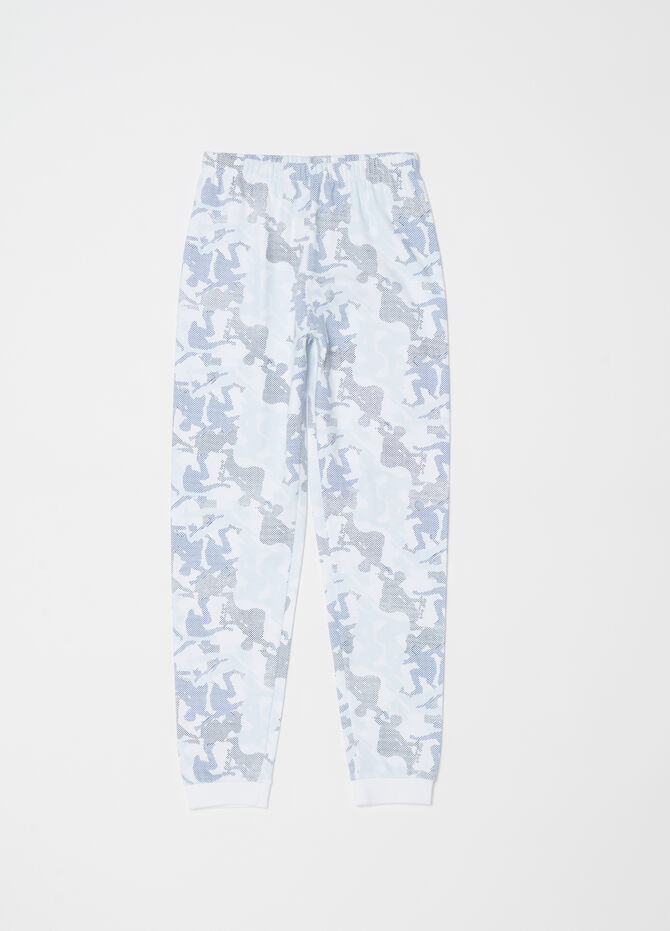Skaters pyjamas with top and trousers