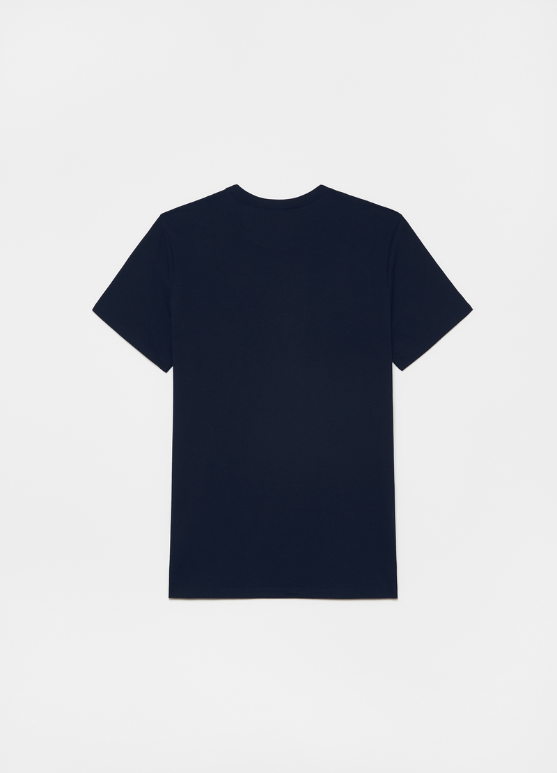 GAP three-pack cotton T-shirt with logo print image number null
