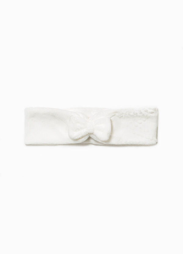 Cotton hairband with bow | OVS