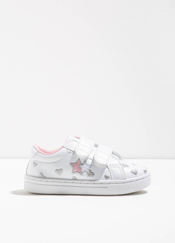 Sneakers with hearts and stars | OVS