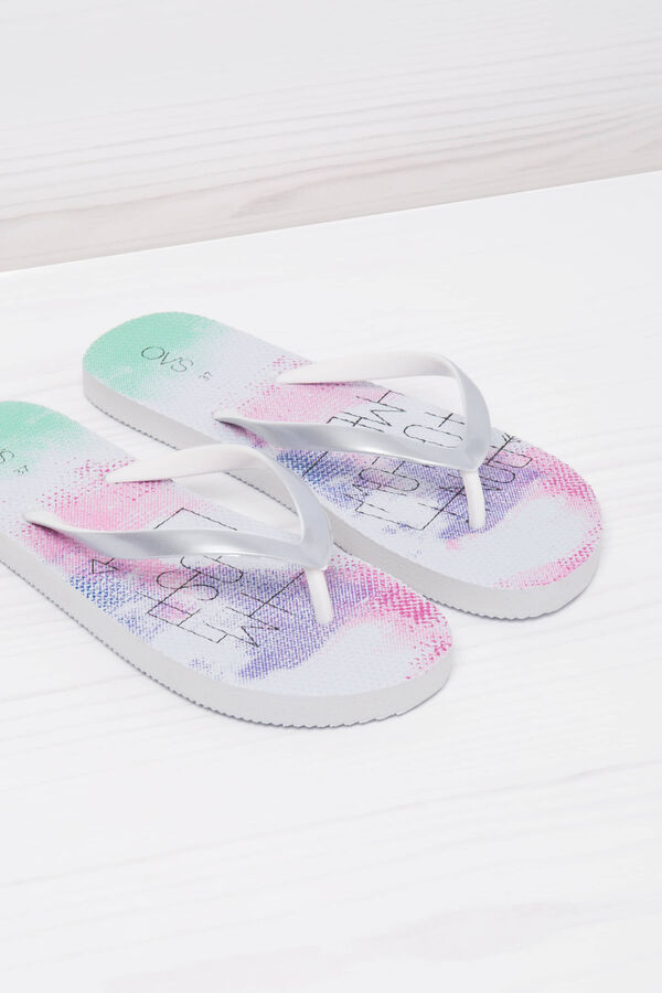 Printed thong sandals   OVS