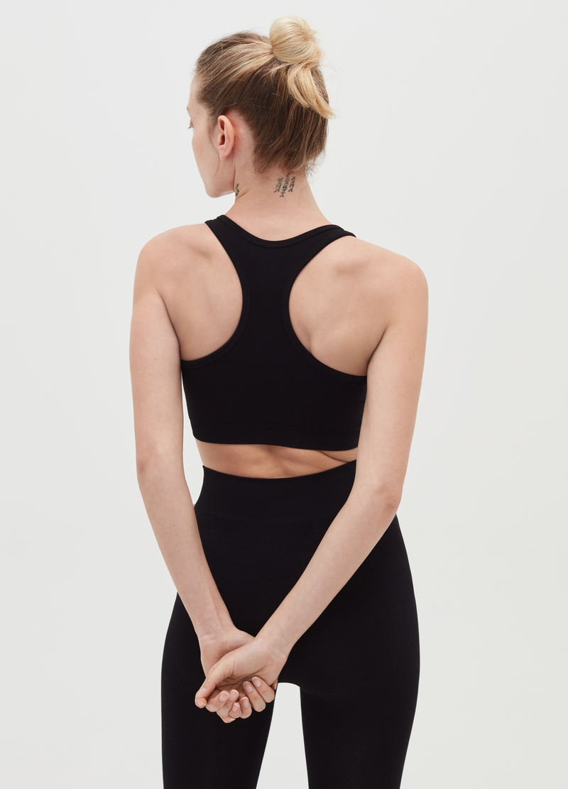 Seamless sports bra image number null