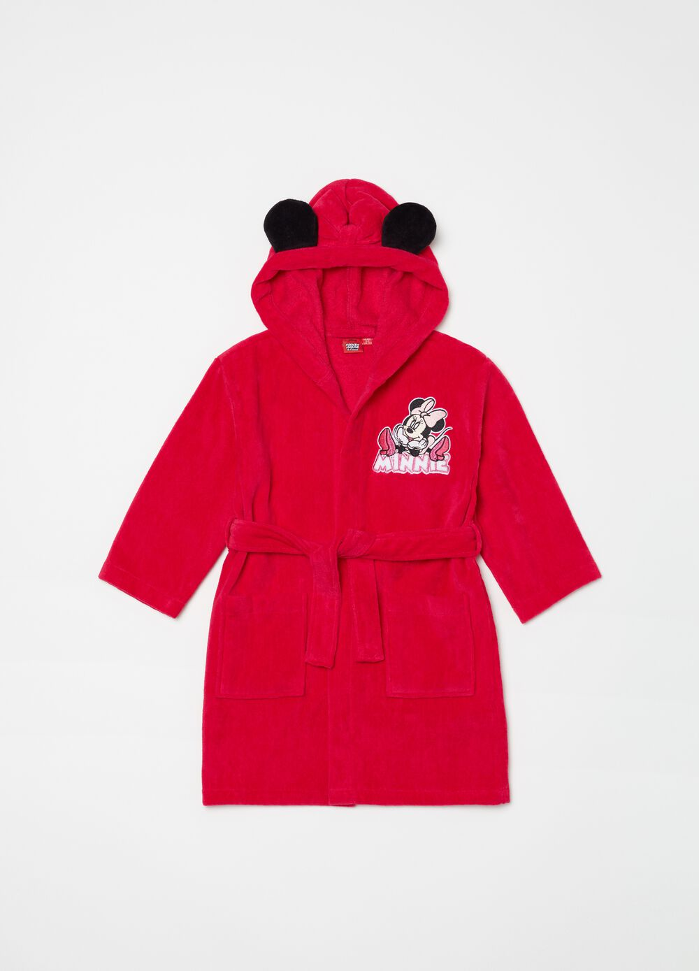 Disney Minnie Mouse bathrobe in 100% cotton