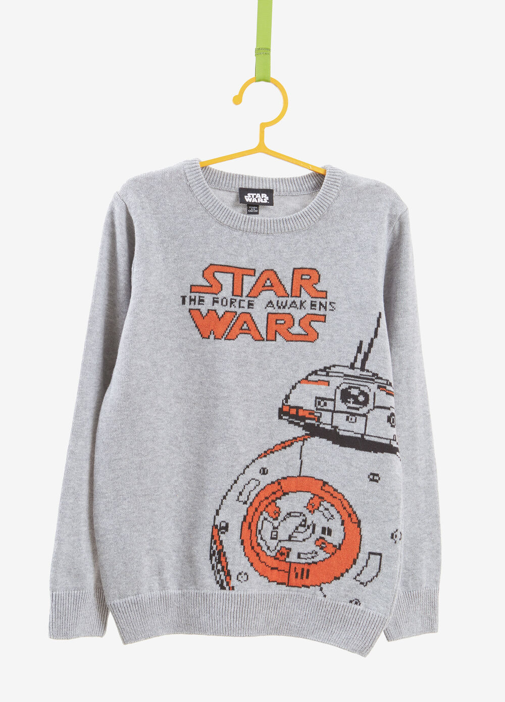 100% cotton pullover with Star Wars embroidery