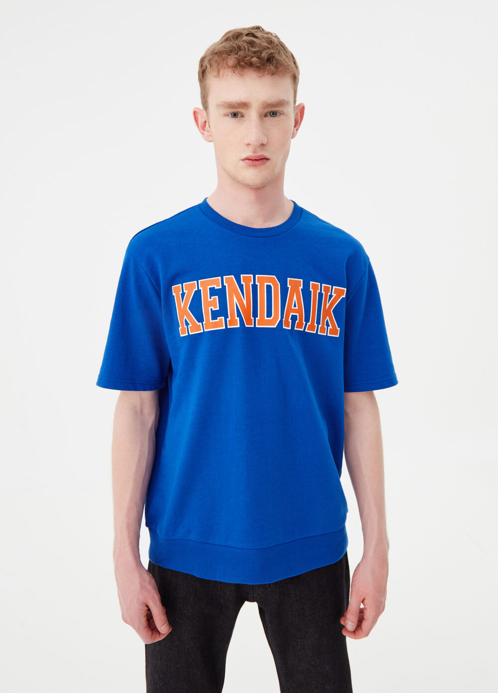 T-shirt oversize in French Terry