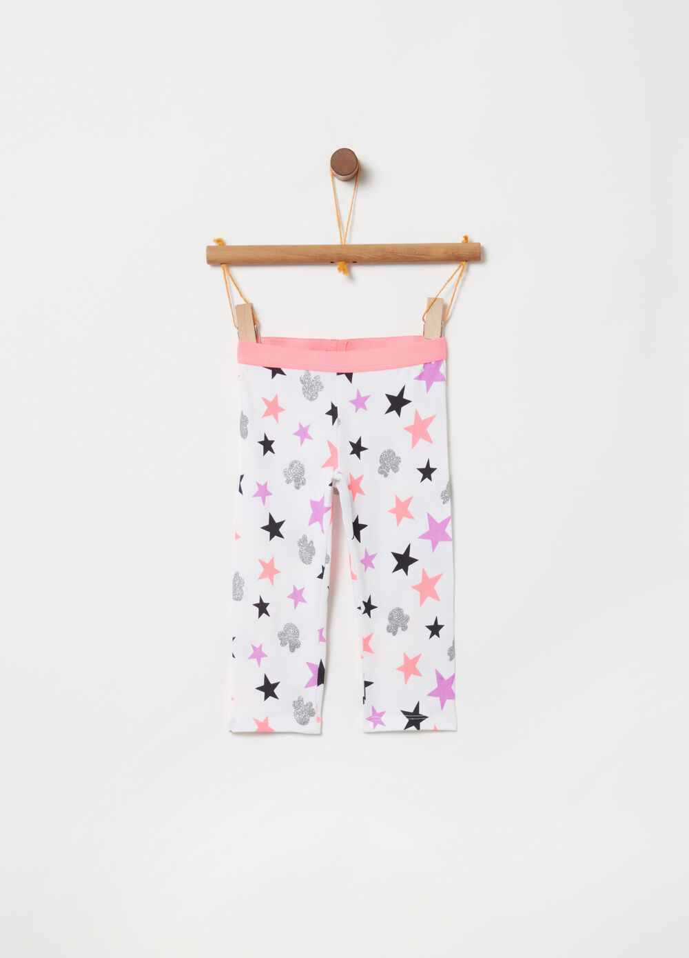 Disney Minnie Mouse stretch leggings