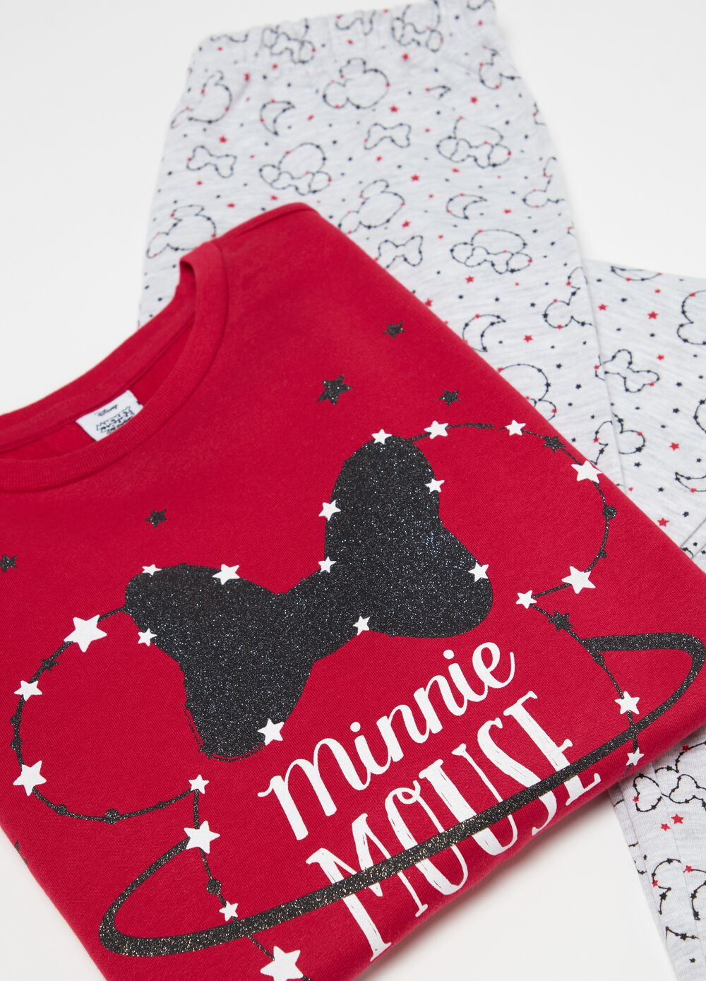 Long Disney Minnie Mouse pyjamas in 100% cotton