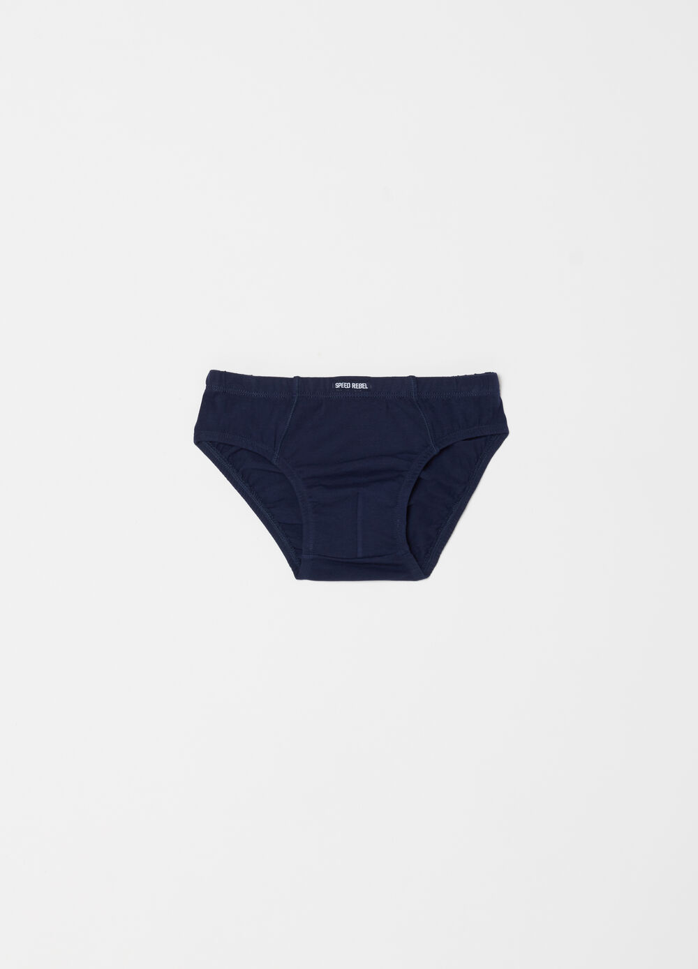 Briefs in organic cotton with insert
