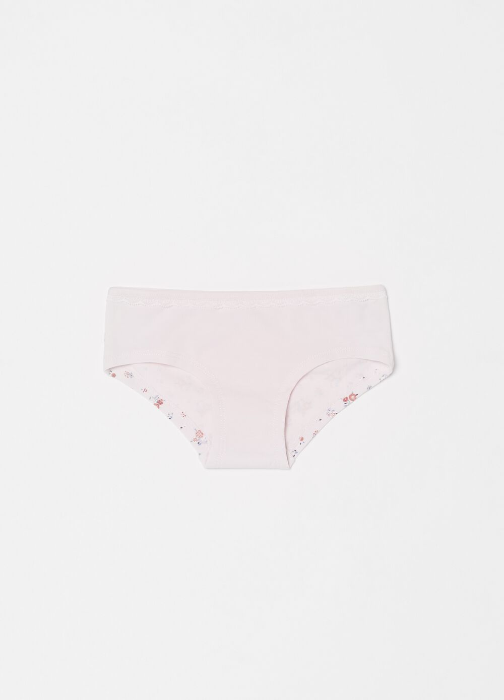 French knickers with floral pattern