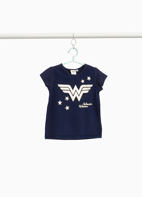 T-shirt with Wonder Woman print