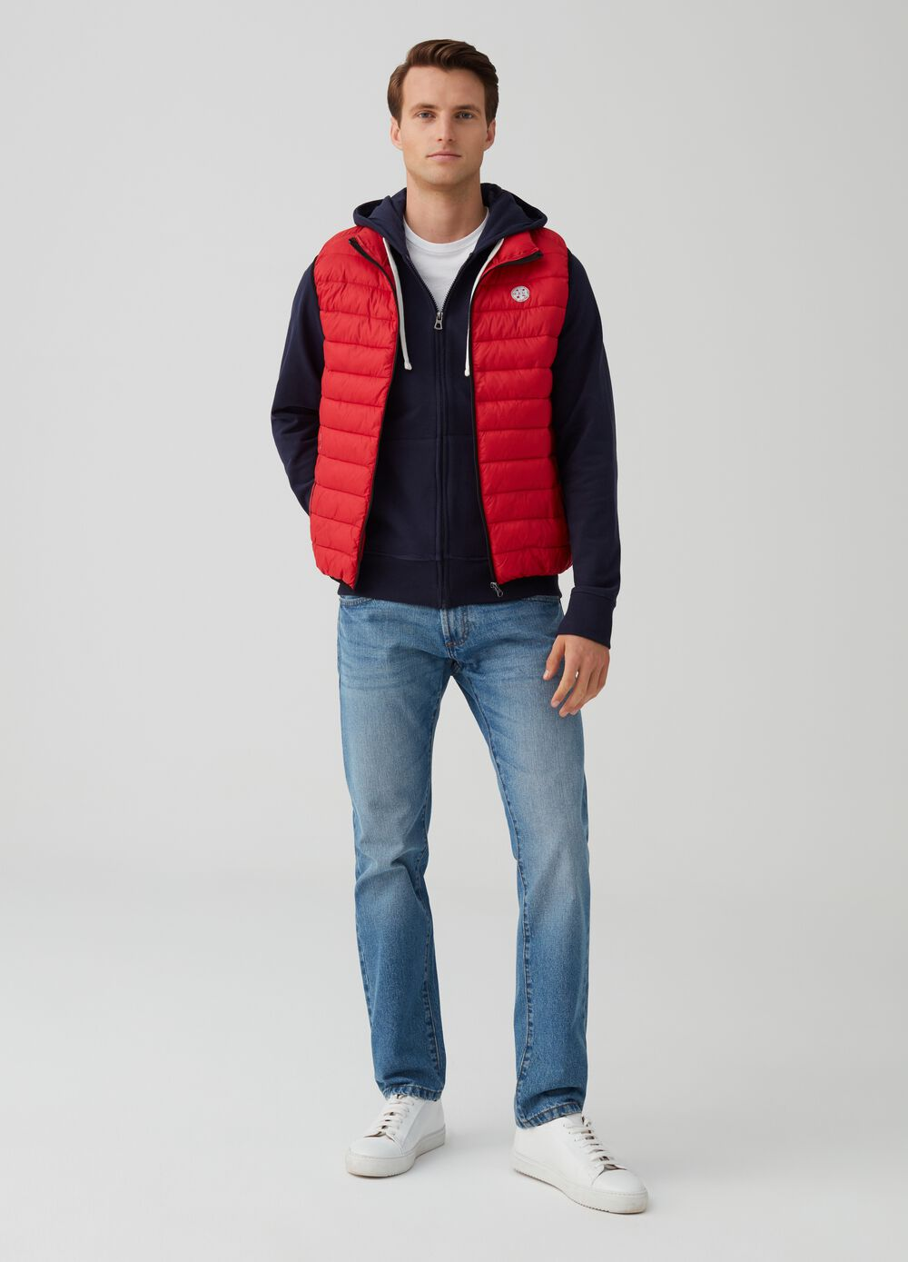 Quilted gilet by Maui and Sons