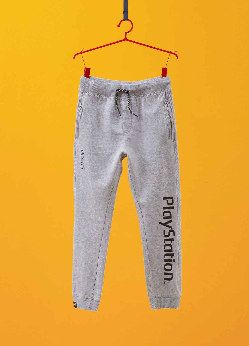 PlayStation print mélange trousers