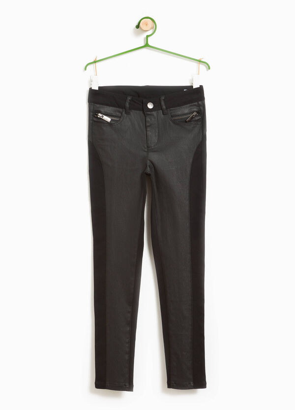 Viscose trousers with insert | OVS