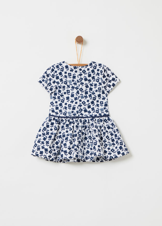 BCI dress with floral print and glitter