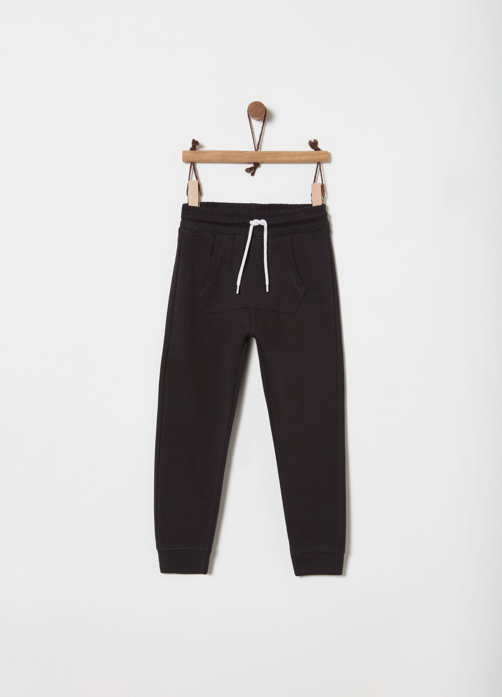 Biocotton lightweight fleece trousers