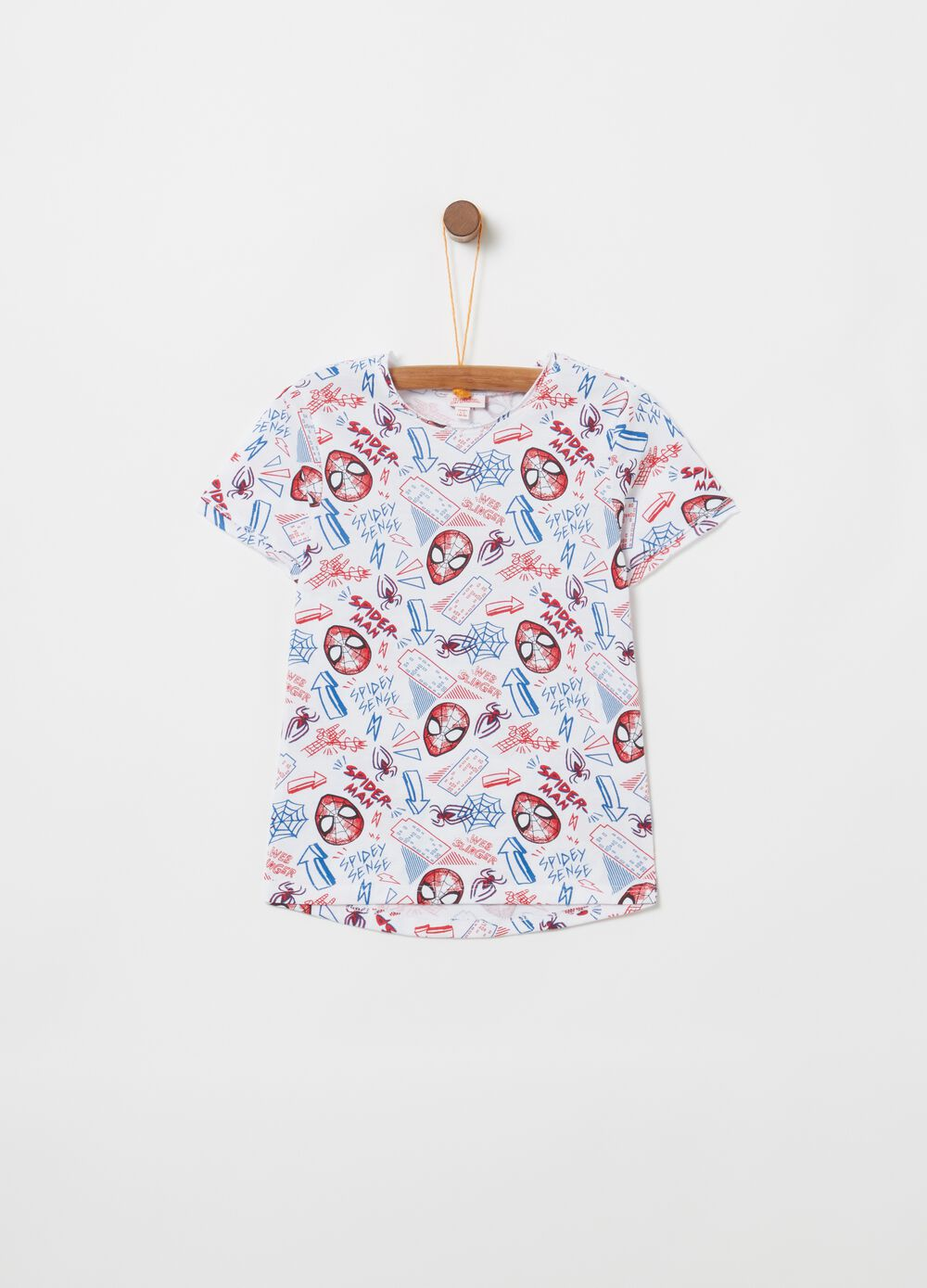 100% cotton T-shirt with Spider-Man print