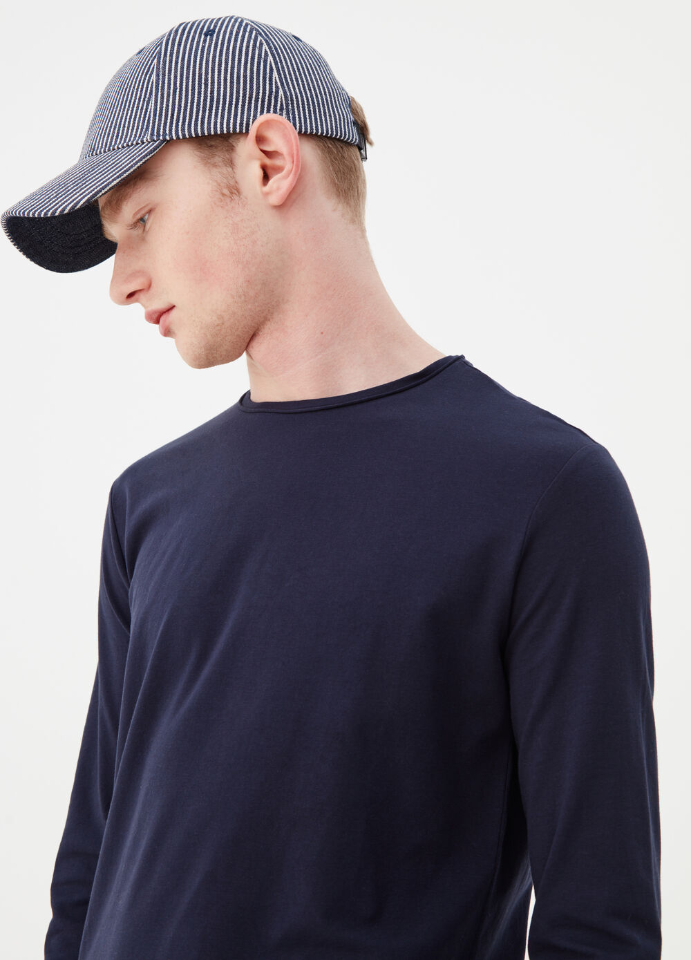 Long-sleeved stretch T-shirt