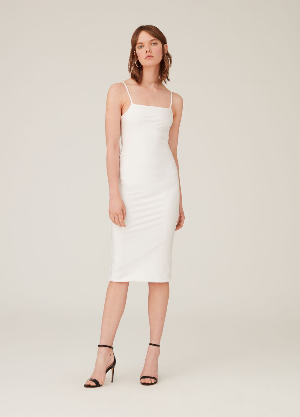 K+K for OVS stretch tube dress with spaghetti straps