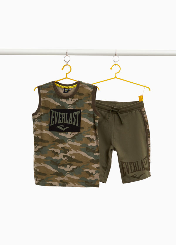 Everlast vest and shorts outfit