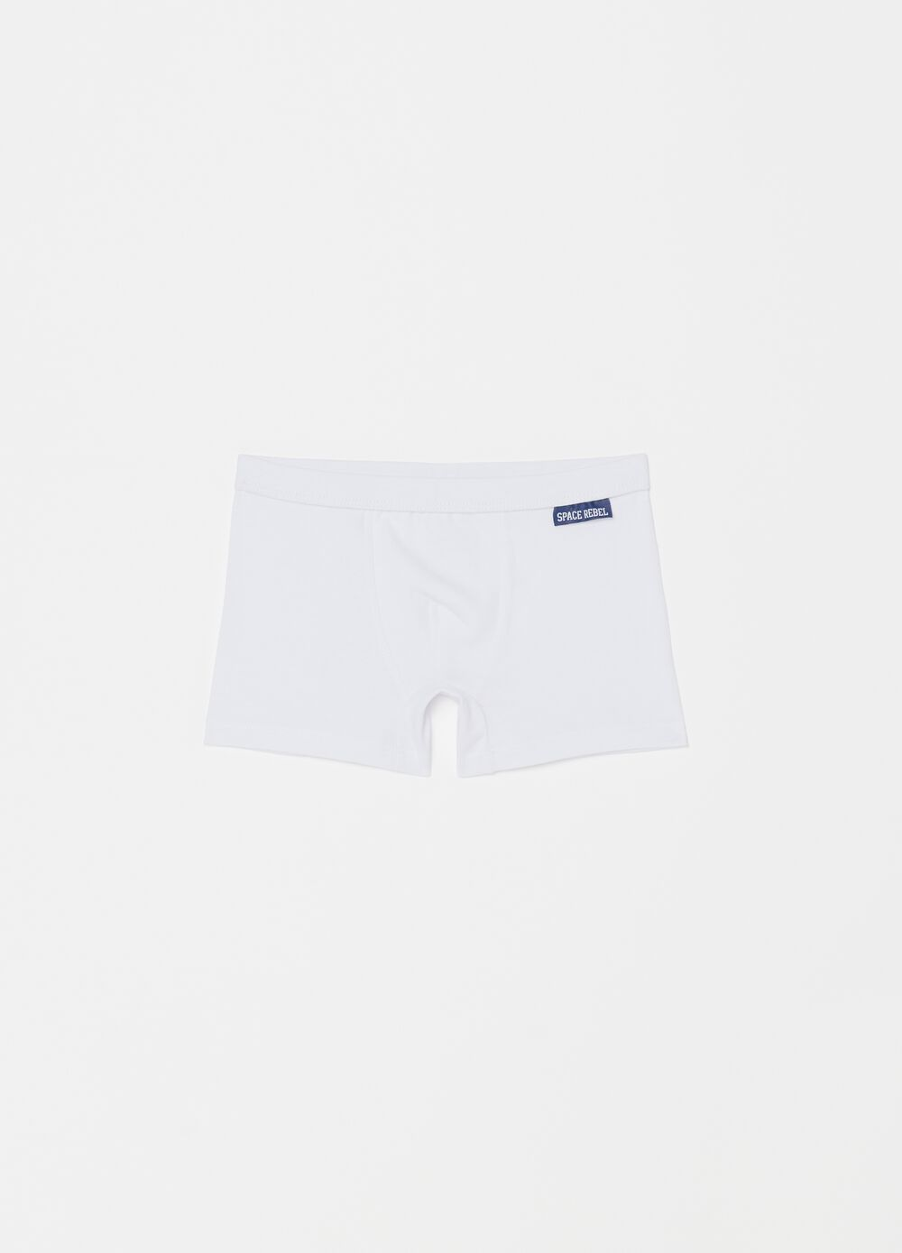 Stretch organic cotton boxer shorts
