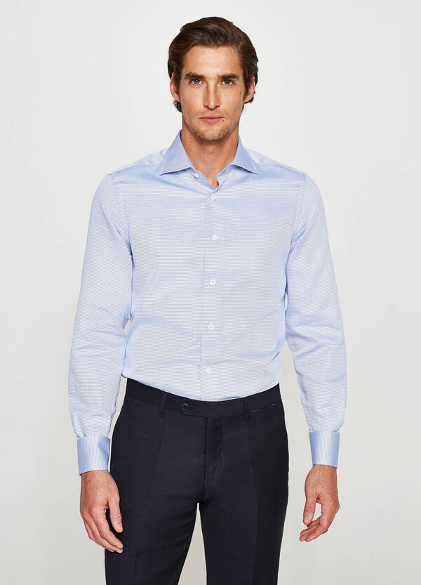 Camicia formale slim fit in cotone