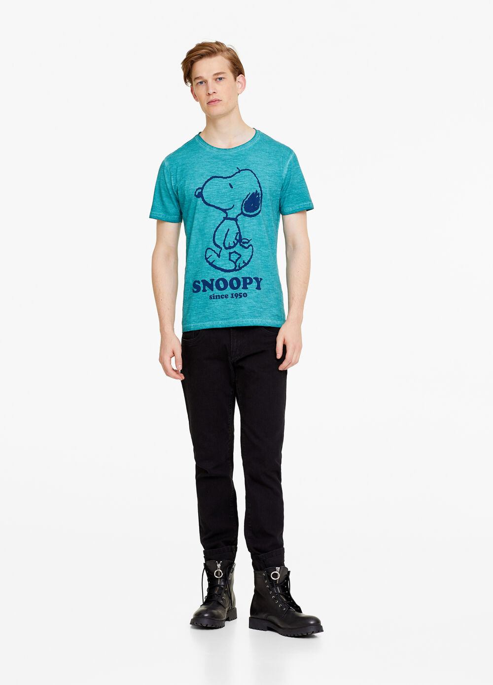 100% cotton T-shirt with Peanuts print