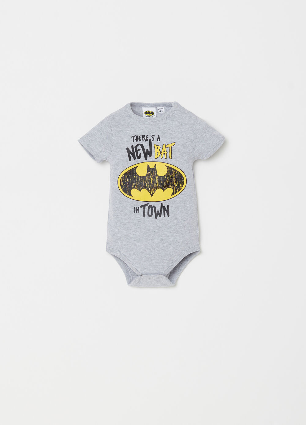 BCI Batman bodysuit with ribbing