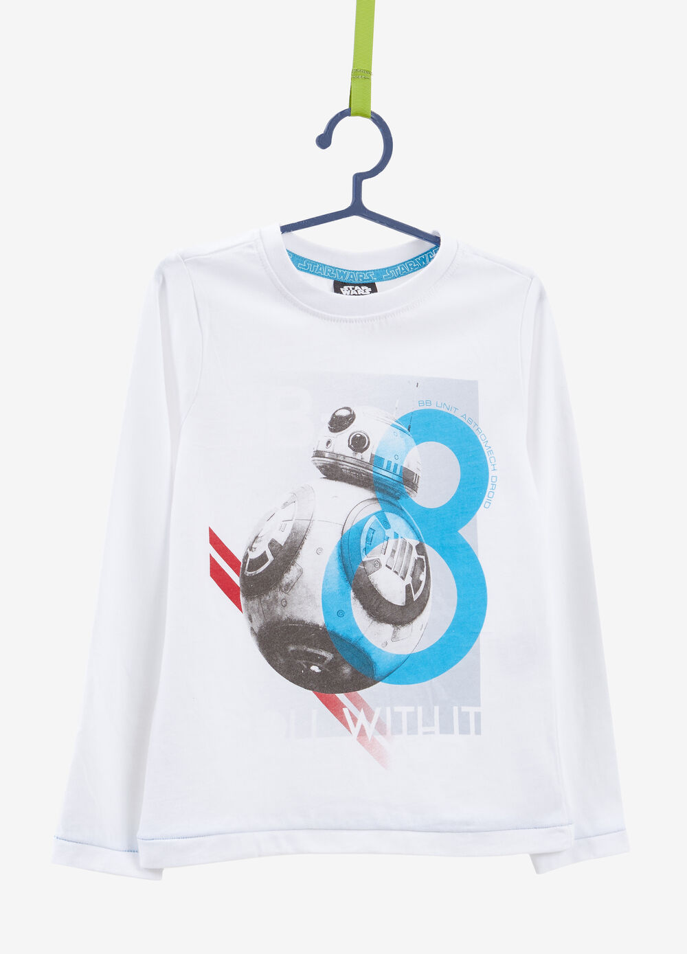 Cotton Star Wars T-shirt with long sleeves