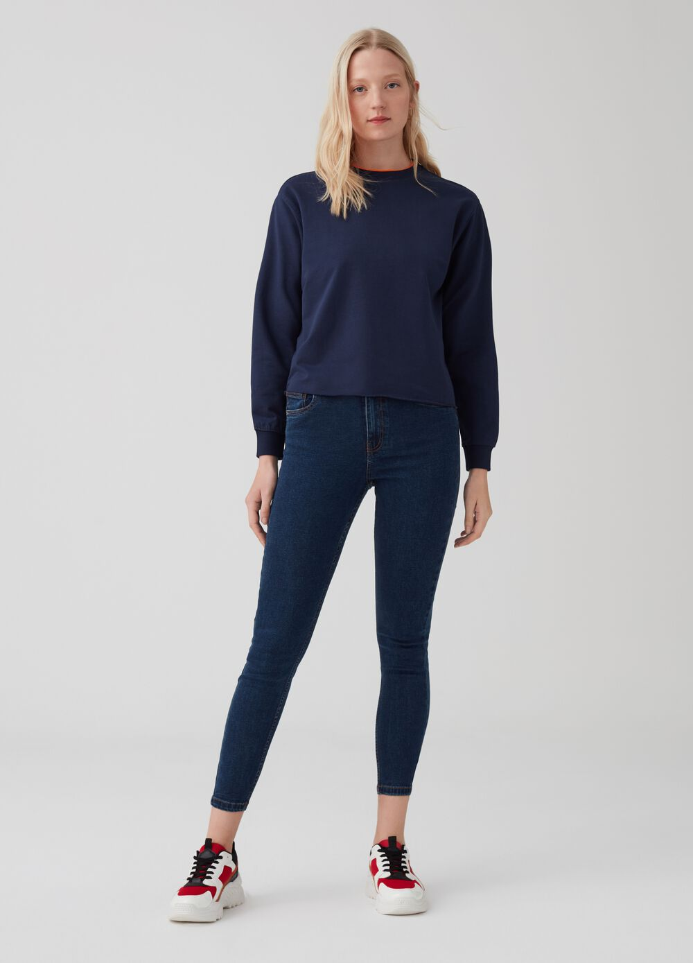 Superskinny-fit jeans with five pockets