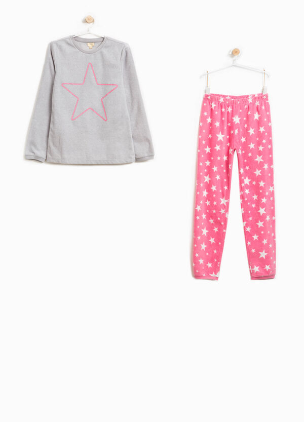 Star pattern fleece pyjamas | OVS