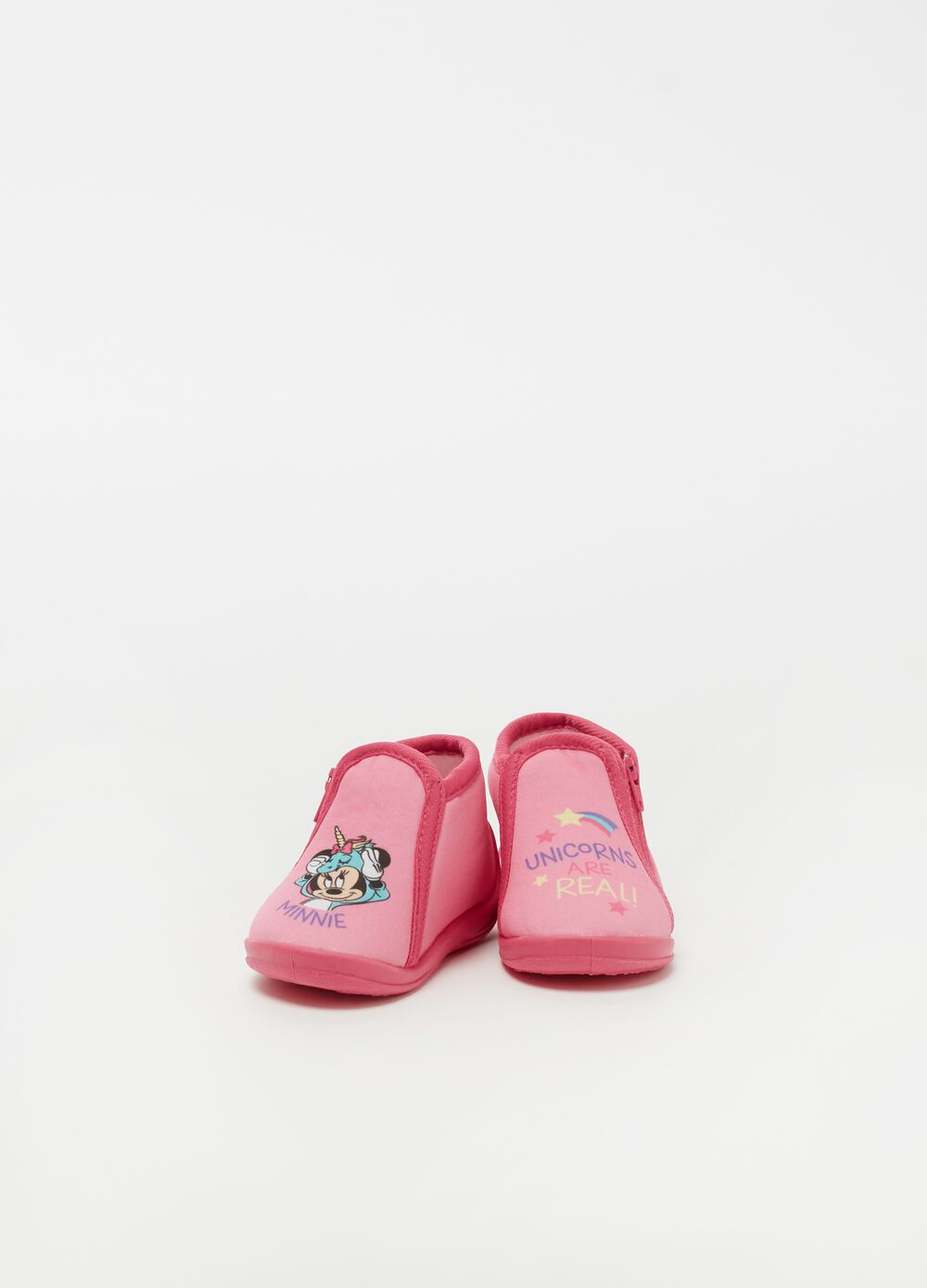 Zapatillas de casa con estampado Disney Minnie