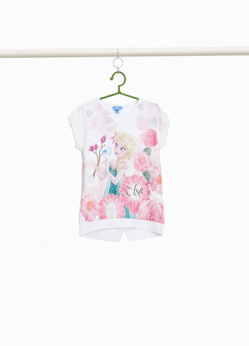 T-shirt with maxi Frozen print
