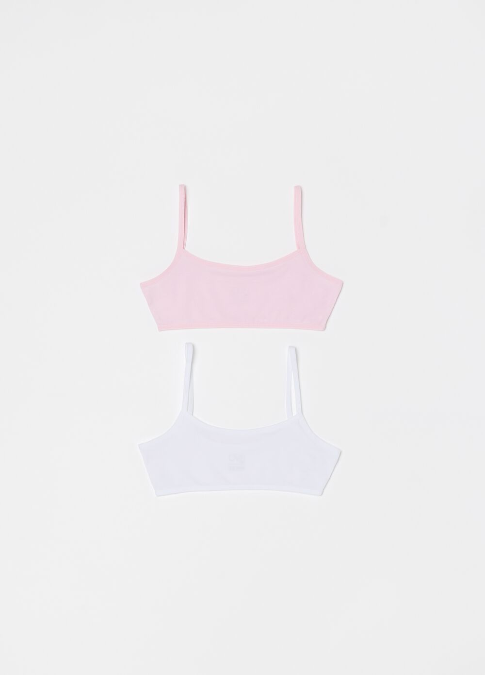 Two-pack stretch organic cotton under tops