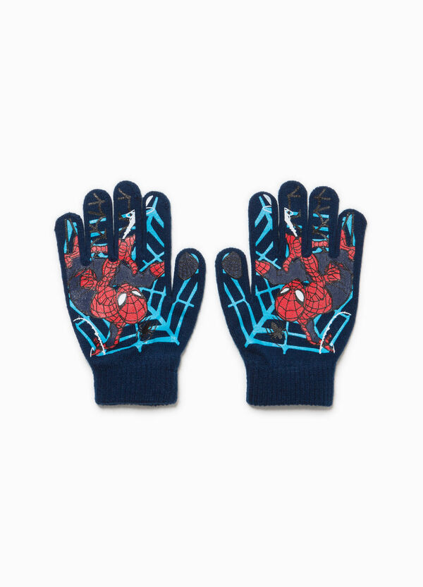 Gloves with Spiderman maxi print | OVS