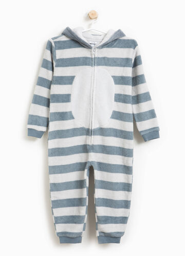 Striped sleepsuit