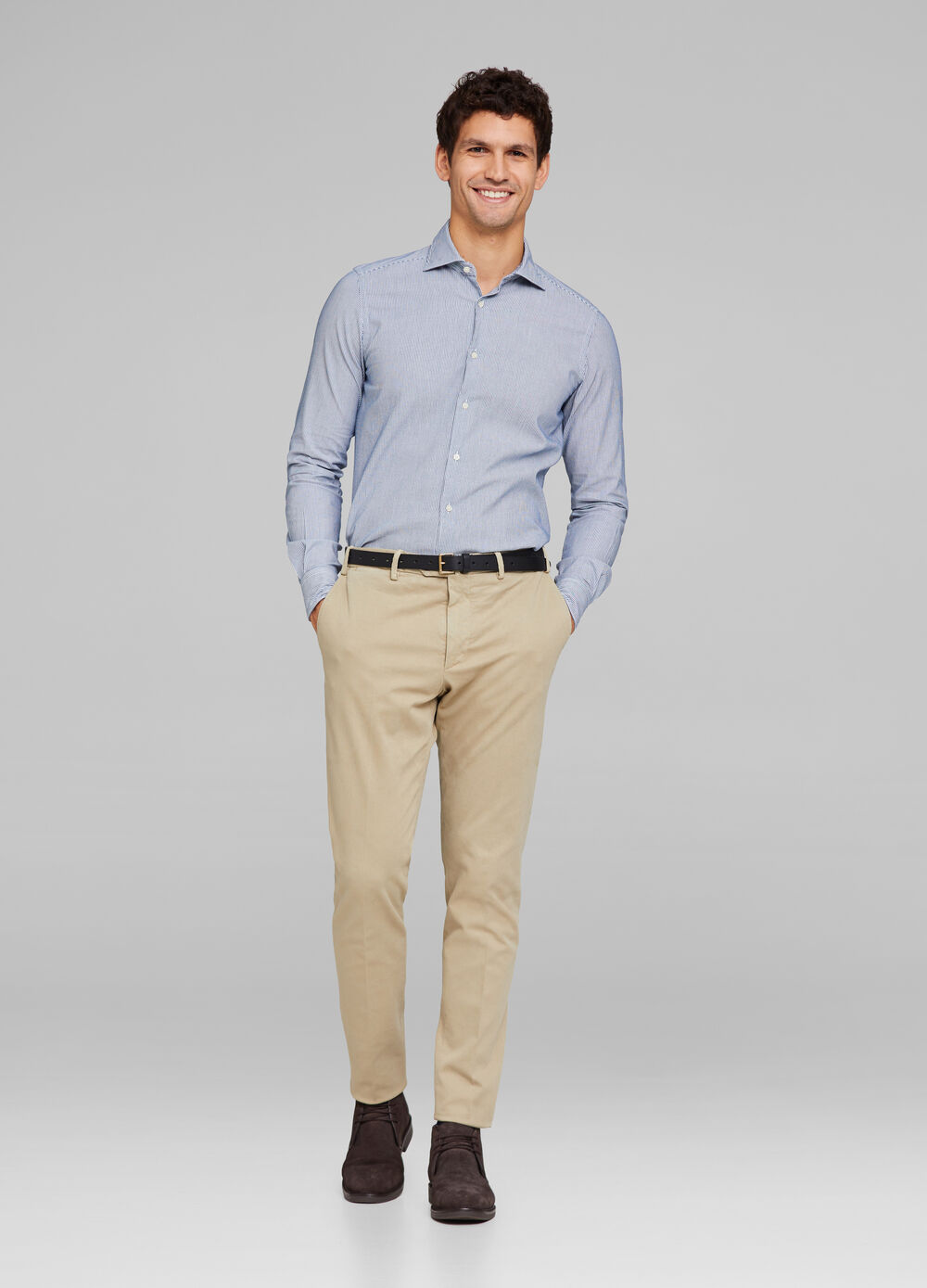 Rumford stretch cotton trousers