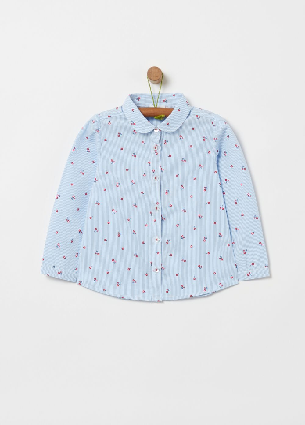 100% organic cotton blouse with pattern