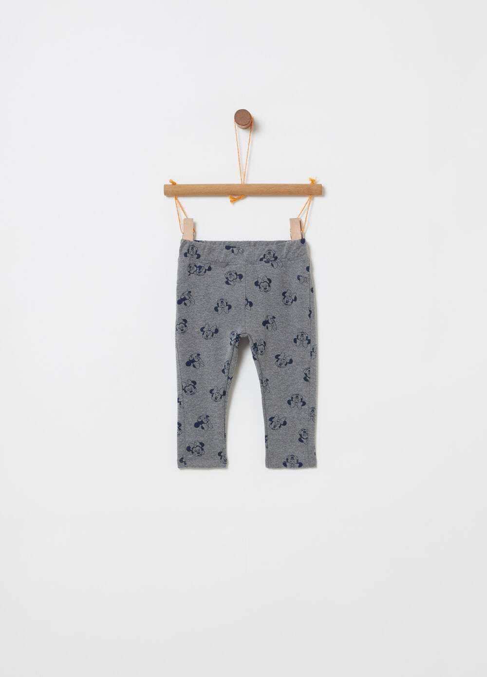 Jeggings with all-over Disney Baby print