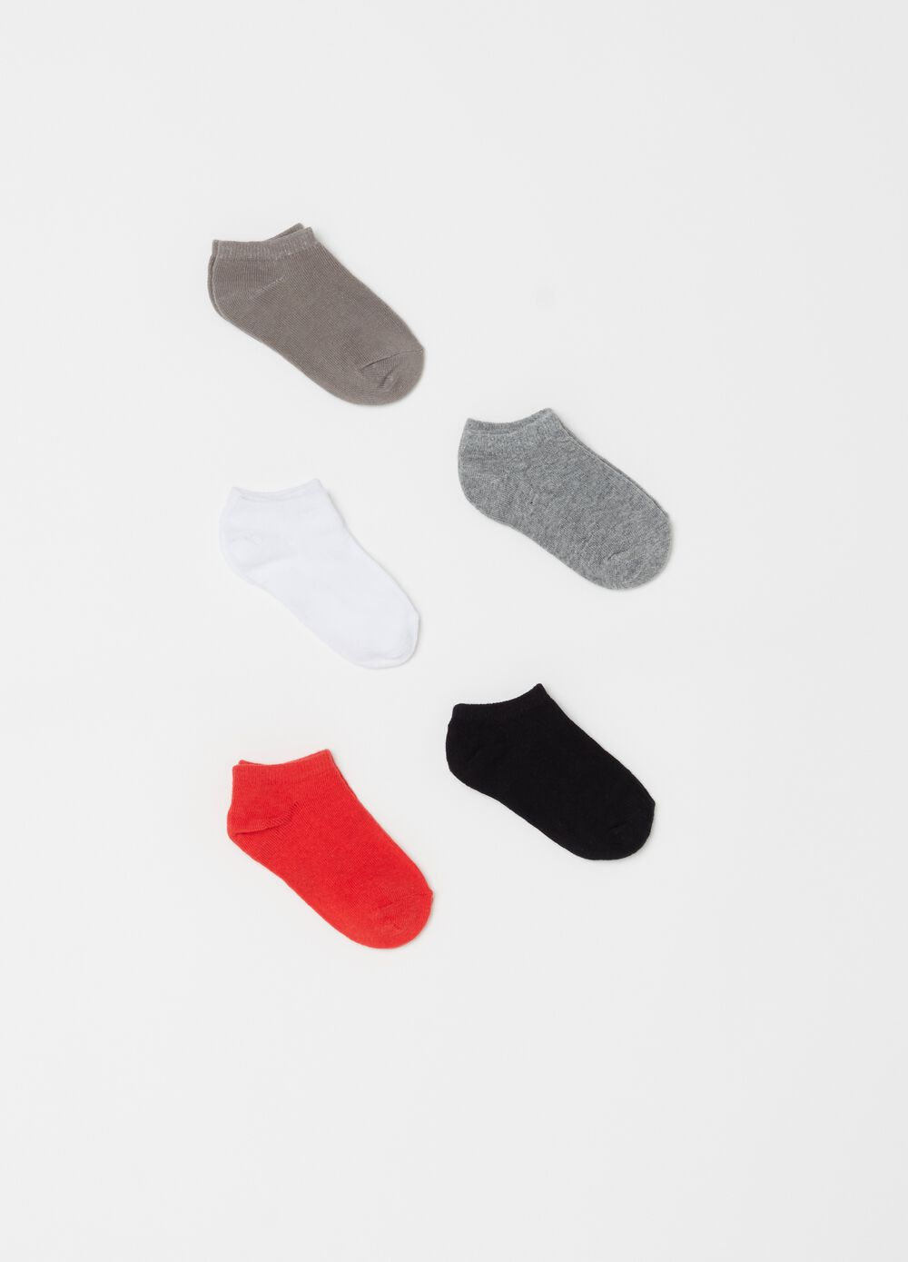 Five-pack stretch socks