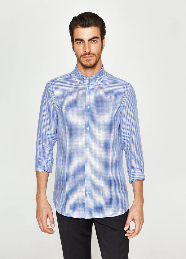 Camicia formale regular fit quadri