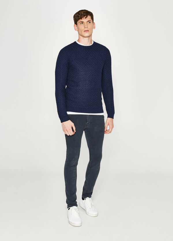Cotton knitted pullover | OVS